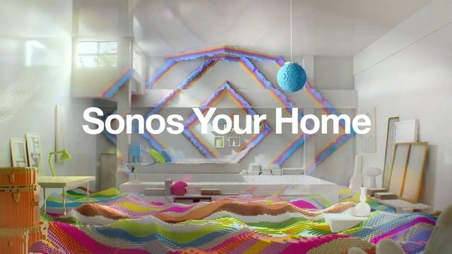 Sonos TV Commercial - PLAY-1 Blocks