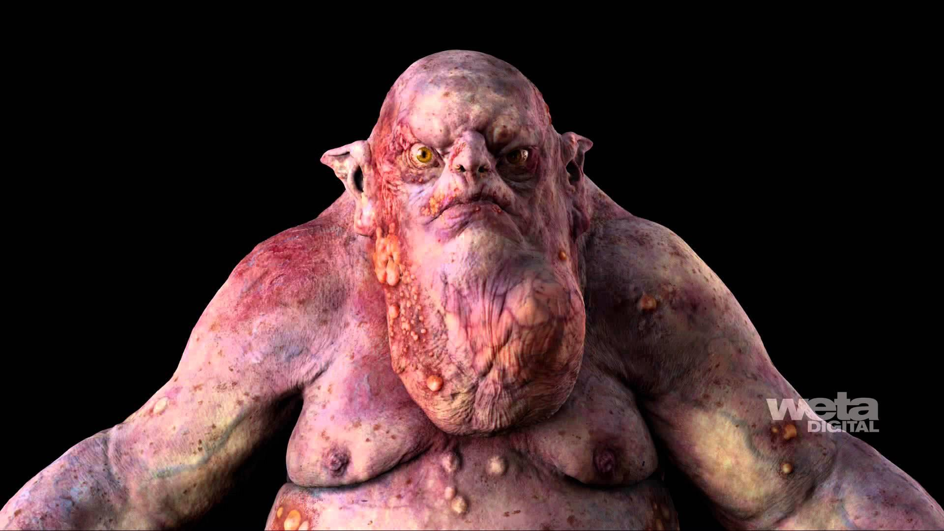 "Weta Digital's artistry behind The Goblin King from ""The Hobbit: An Unexpected Journey"""