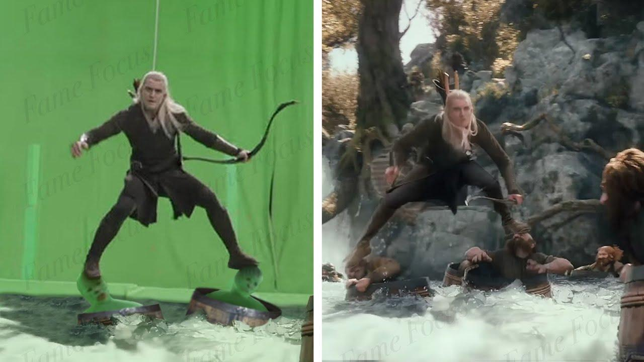 Amazing Before & After Hollywood VFX: Trilogy of the Hobbit