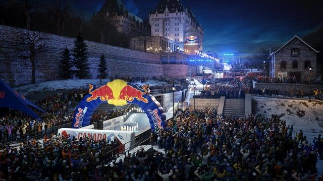 Red Bull Crashed Ice 2017 | 3D Track Overview - Canada