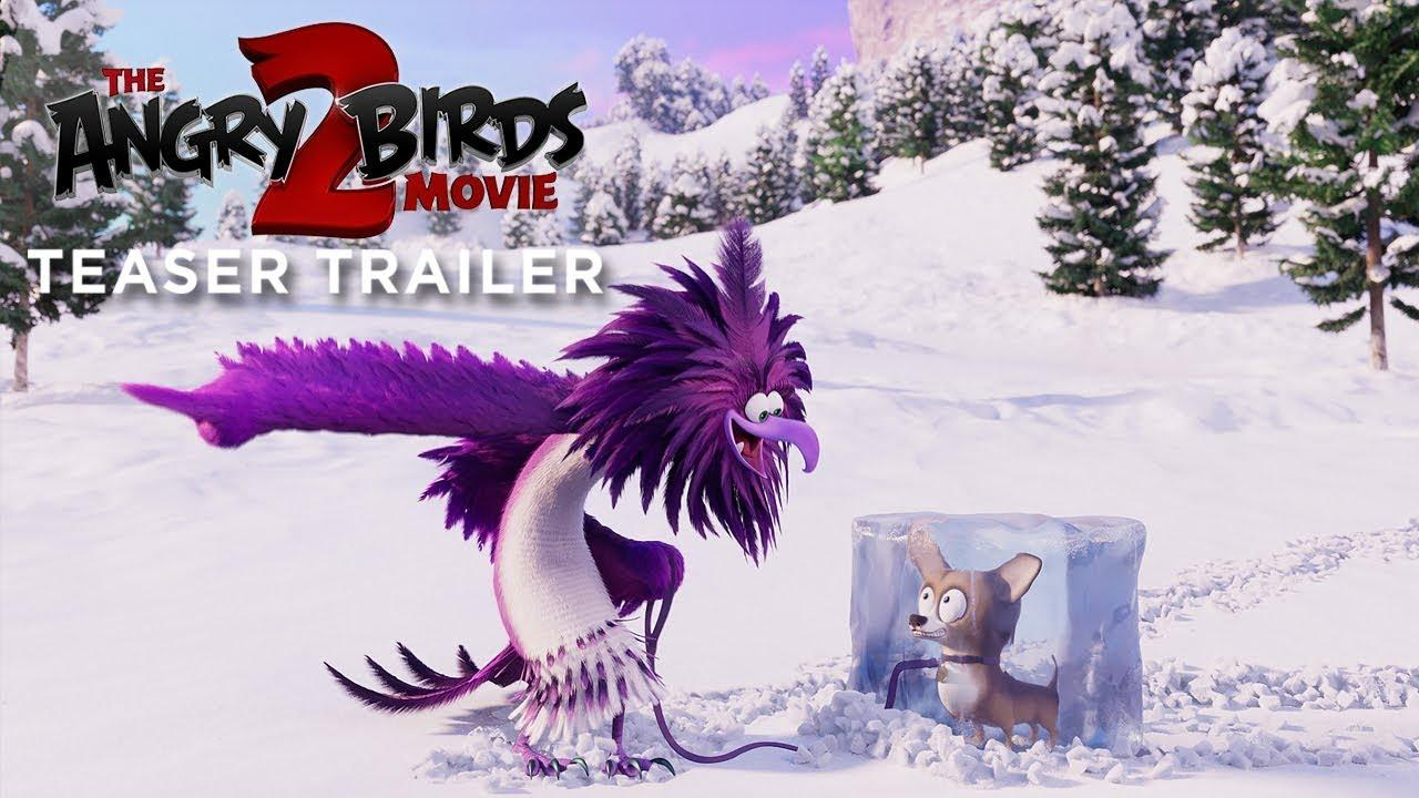 THE ANGRY BIRDS MOVIE 2 - Official Teaser Trailer