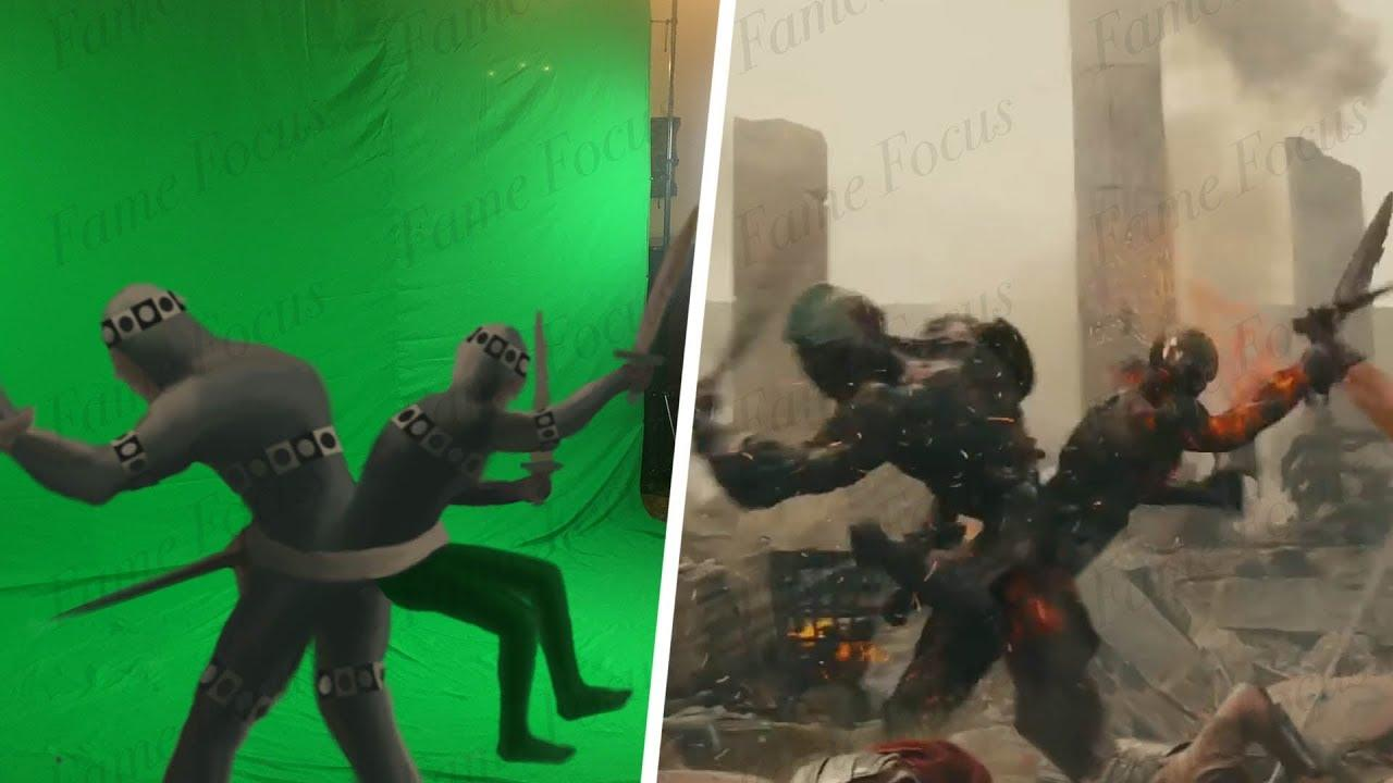 Amazing Before & After Hollywood VFX: Wrath of the Titans