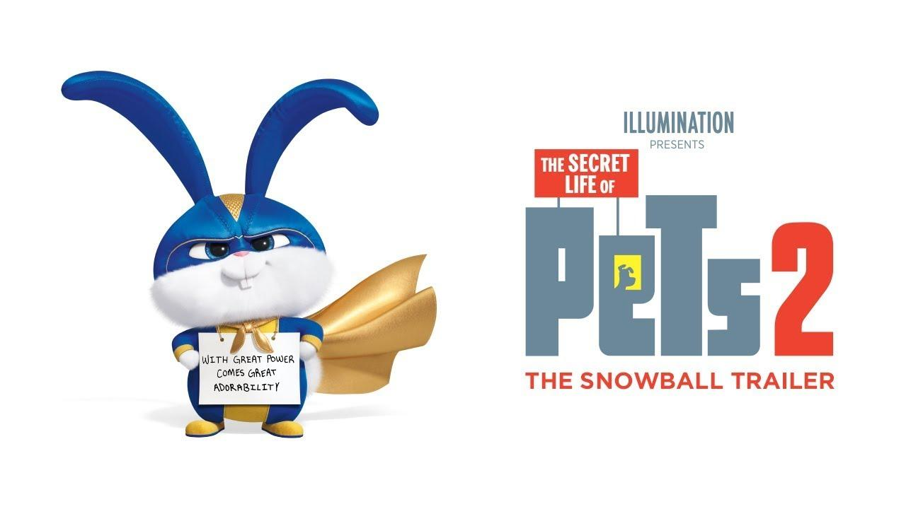 The Secret Life Of Pets 2 - The Snowball Trailer [HD]