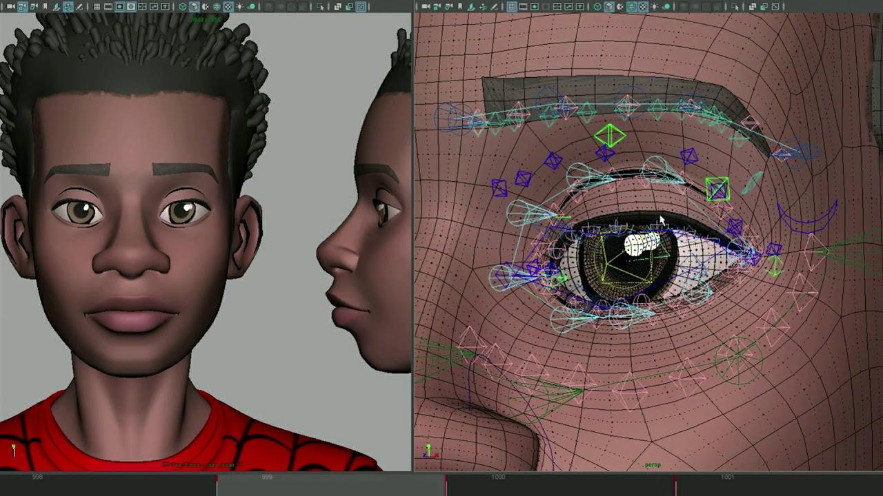 SPIDER-MAN: INTO THE SPIDER-VERSE -  Animating Miles