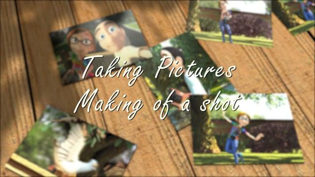 Taking Pictures  - Making of a shot