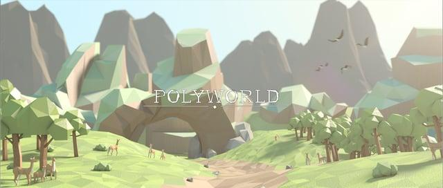 PolyWorld - Low Poly Animation (Episode I)