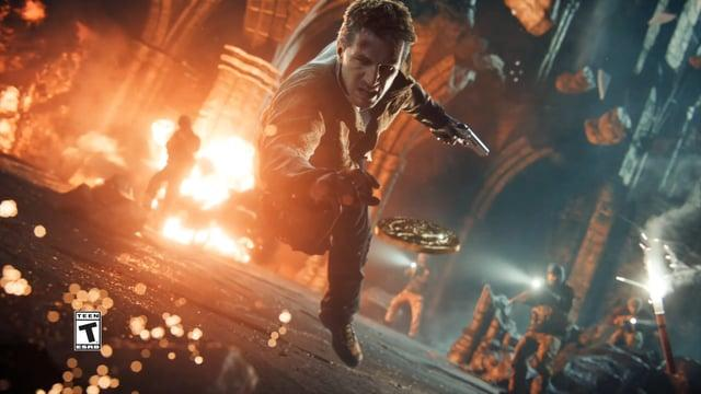 Uncharted 4: A Thief's End - Man Behind the Treasure TV Spot
