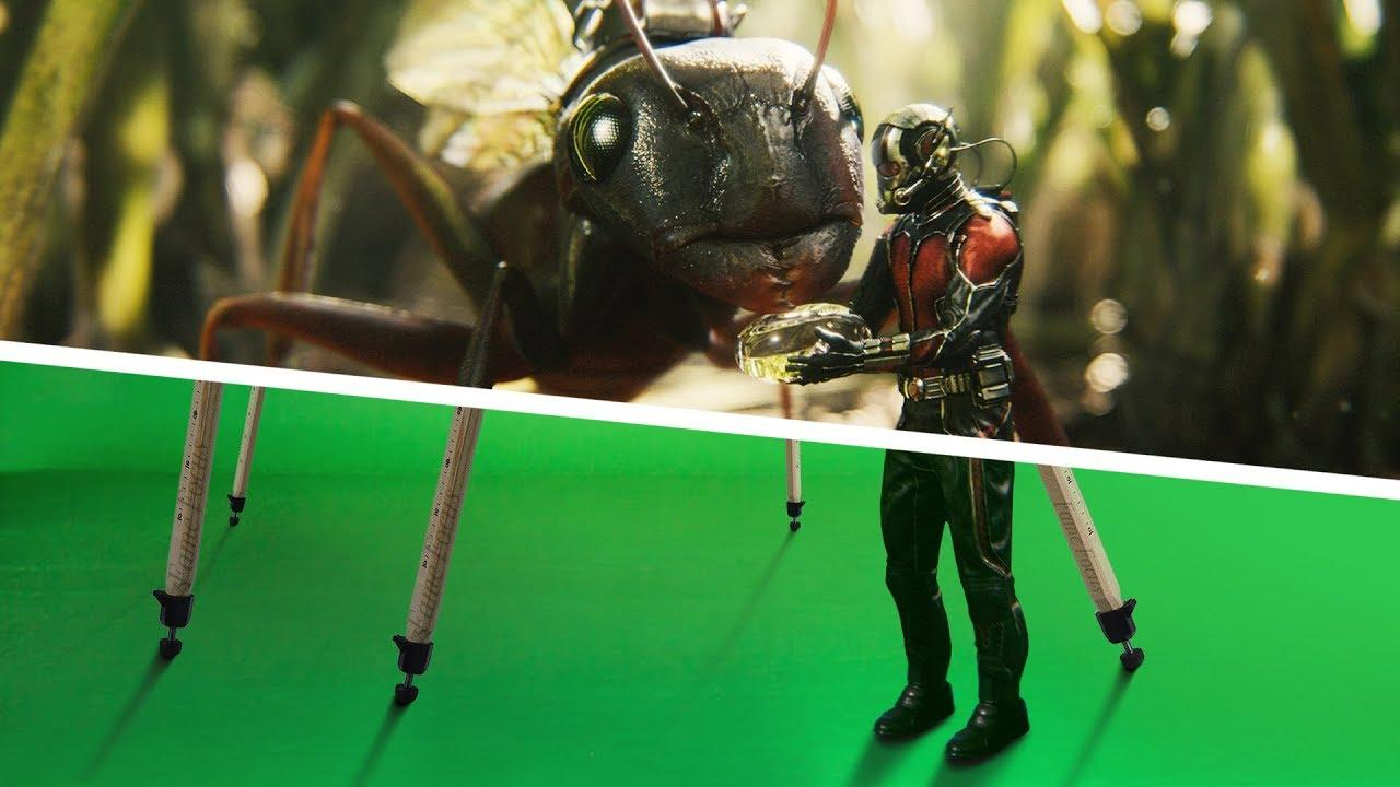 Amazing Before & After Hollywood VFX: Ant Man