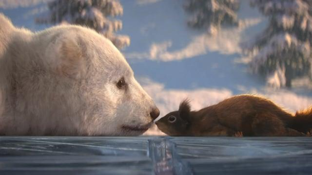 Dancing on Ice 2019- Bear and Squirrel