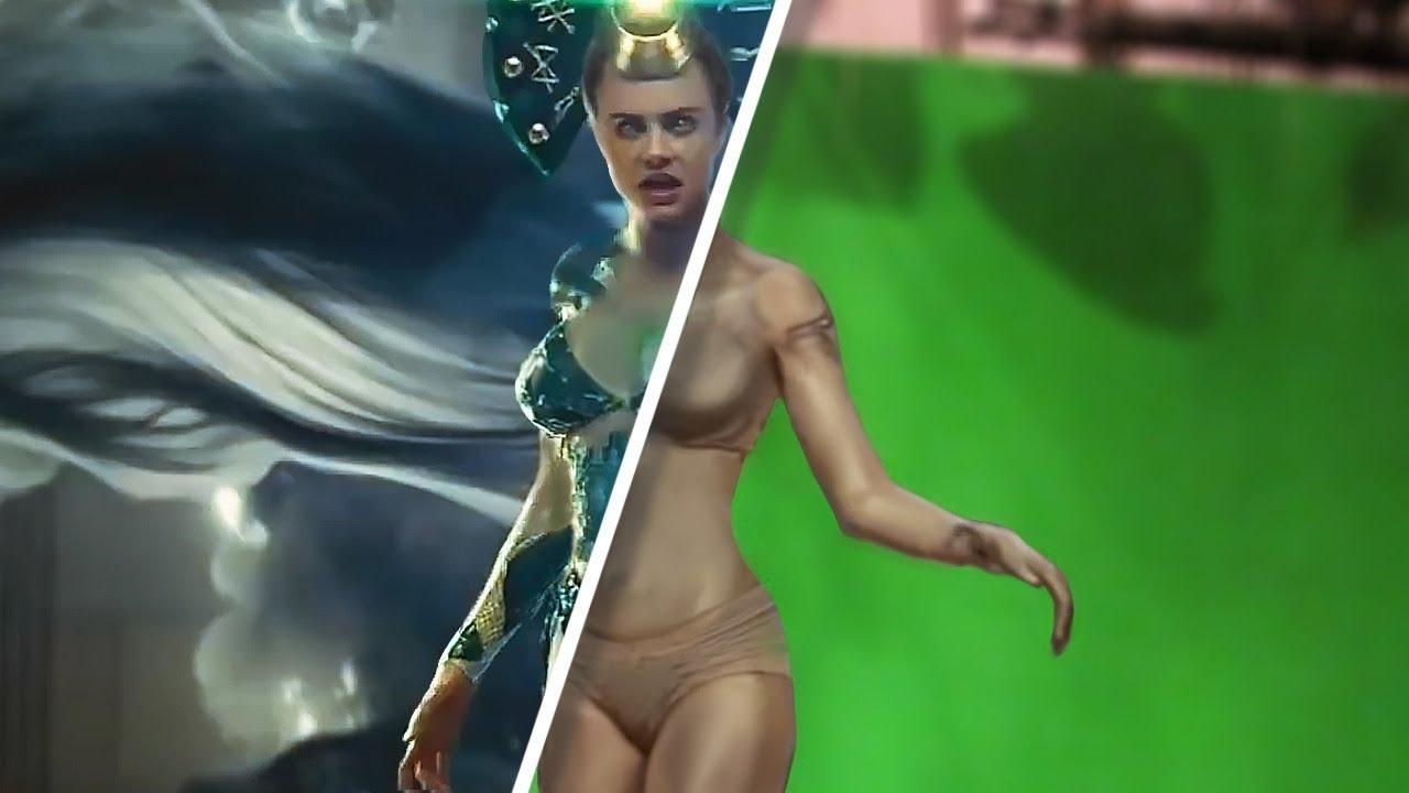 Amazing Before & After Hollywood VFX Part 11