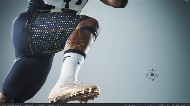 Nike Football / VFX Before and After
