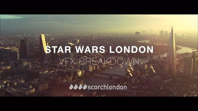 Star Wars London - VFX breakdown