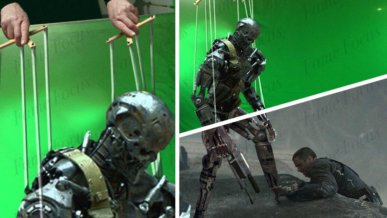 Amazing Before & After Hollywood VFX: Terminator Salvation