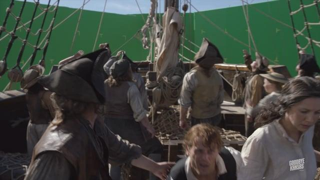 Goodbye Kansas VFX Breakdown Outlander season 3