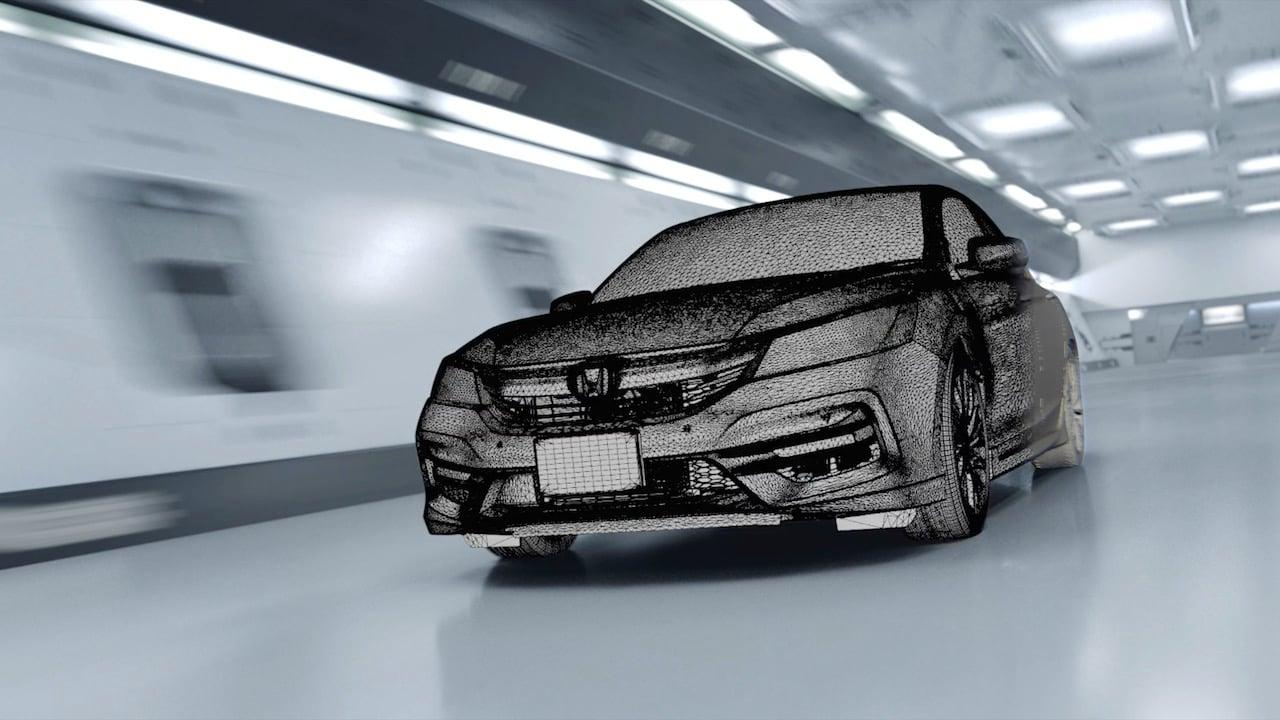 Behind the Scenes: Honda 'Light Trace'