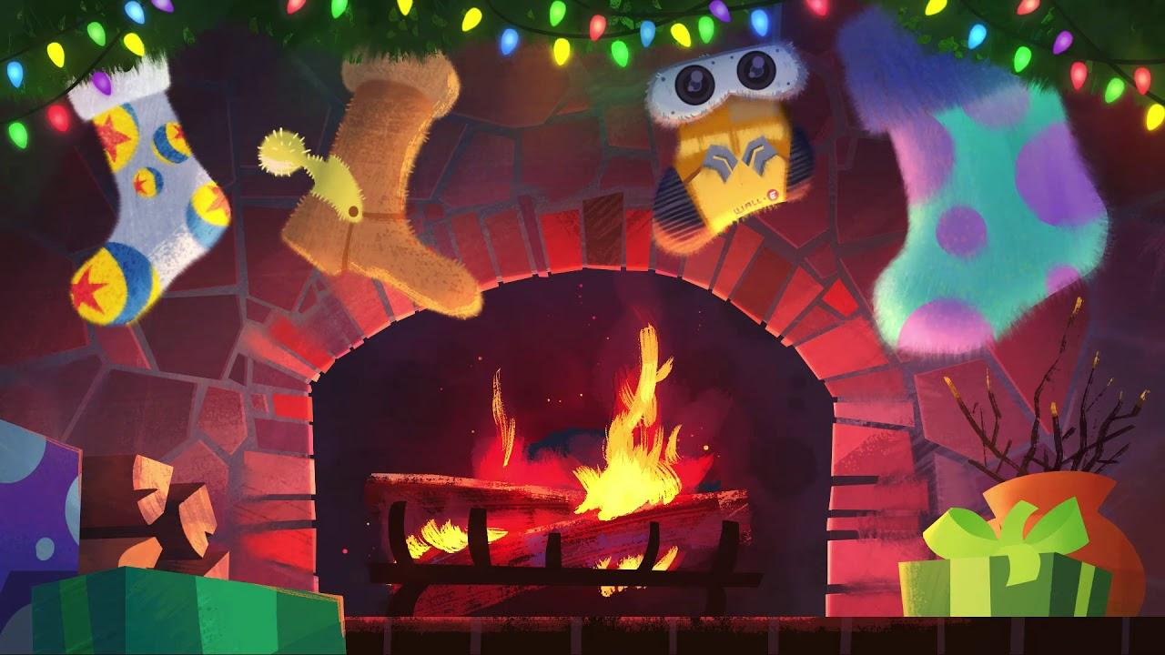 A Pixar Fireplace