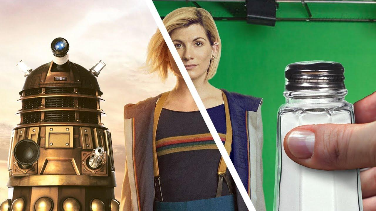 Amazing Before & After Hollywood VFX Dr Who