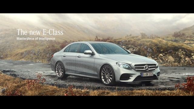 "Mercedes Benz E-Class ""Features"""