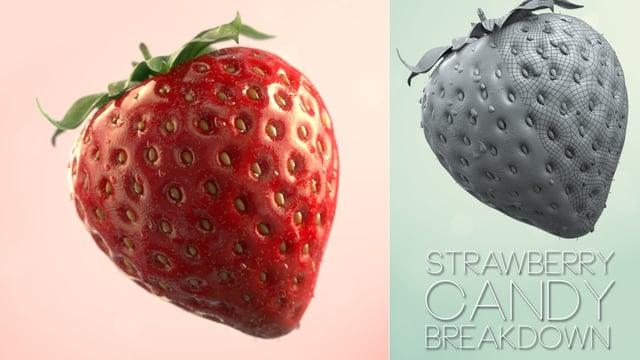 Strawberry Candy - VFX Breakdown