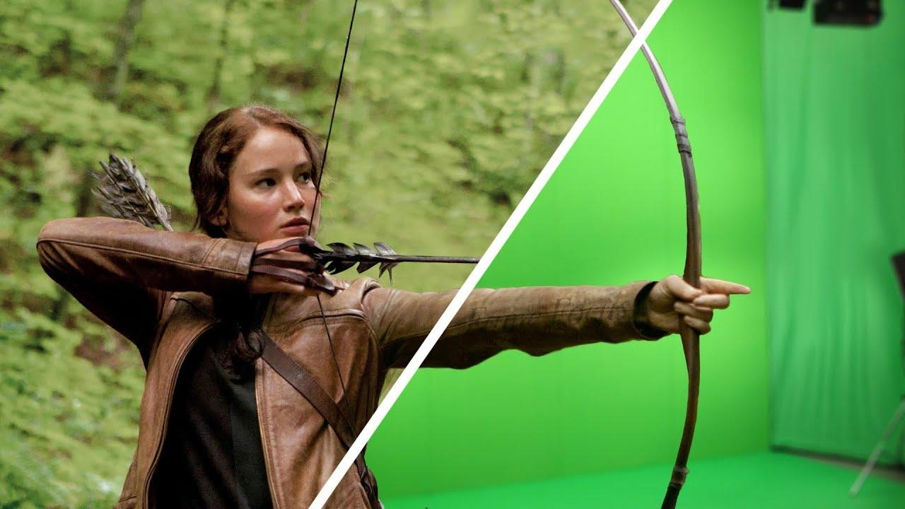 Amazing Before & After Hollywood VFX: The Hunger Games - Mockingjay Part 1