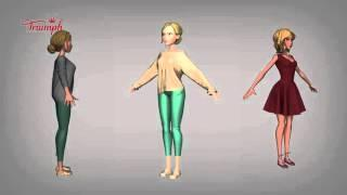 Triumph Lingerie: Behind The Scenes of Find The One…Again! | The Animation