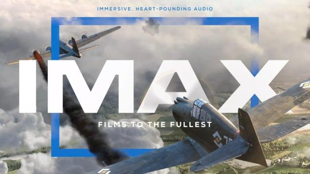 IMAX Dogfight with Branding