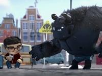 Vodafone Roaming Monster Ad by Zanad with Maxwell Render