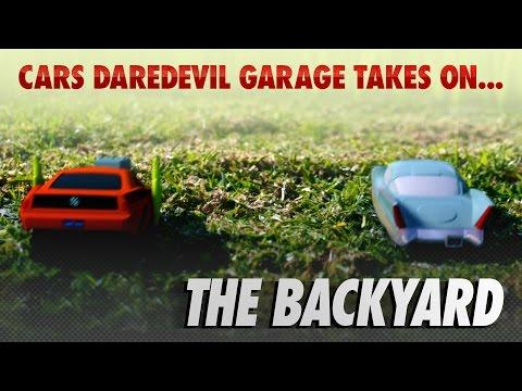 Disney Pixar Cars | The Die-cast Series Ep. 9 | Takes on the Backyard