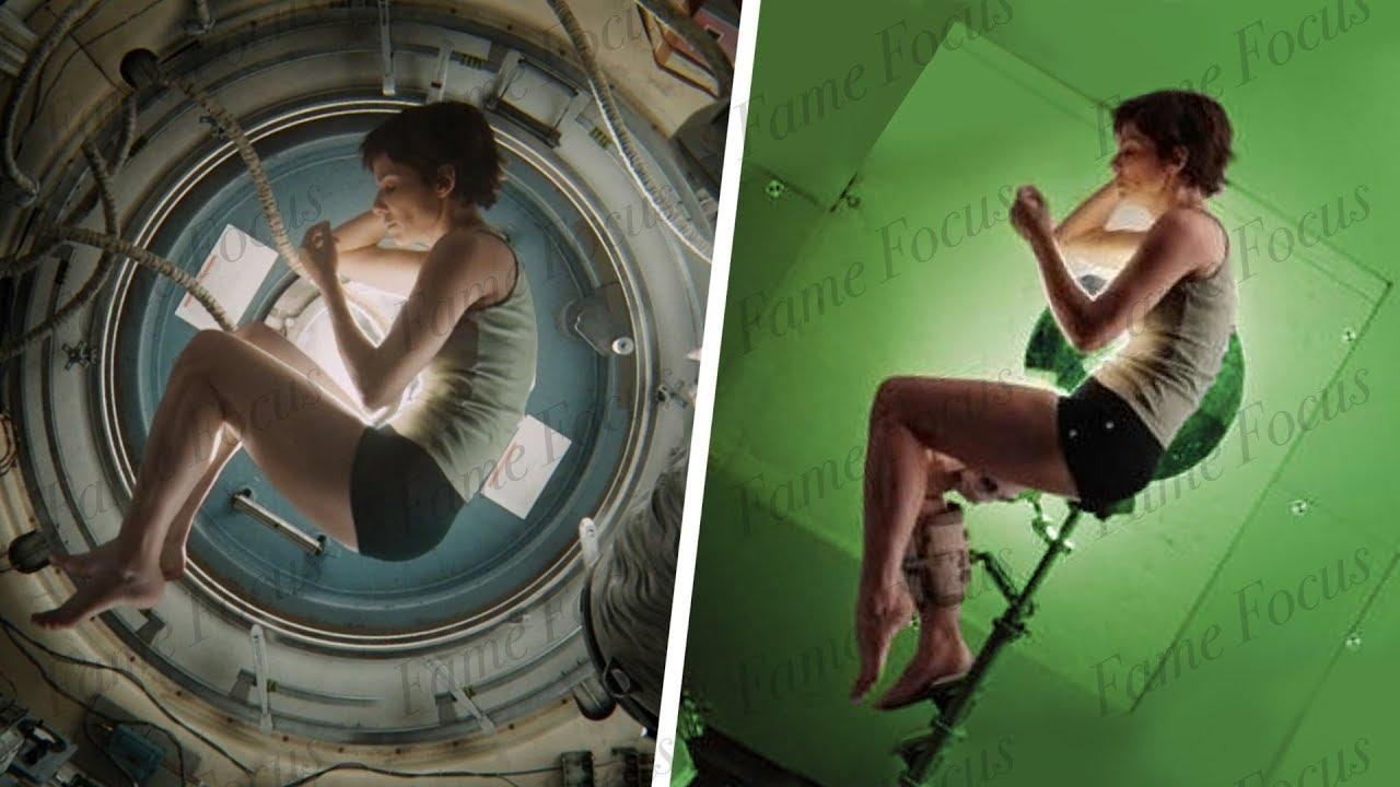 Amazing Before & After Hollywood VFX: Gravity