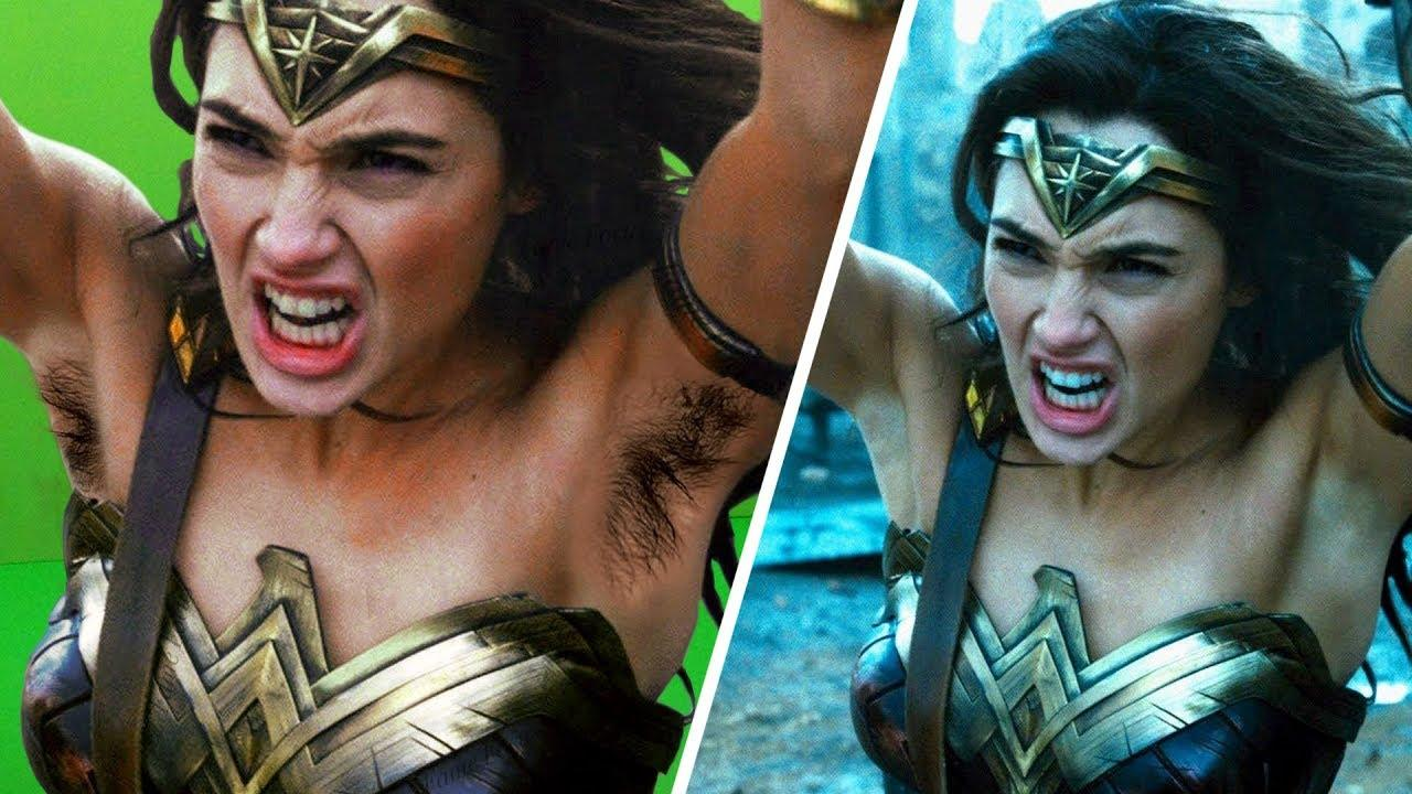 Amazing Before & After Hollywood VFX Wonder Woman