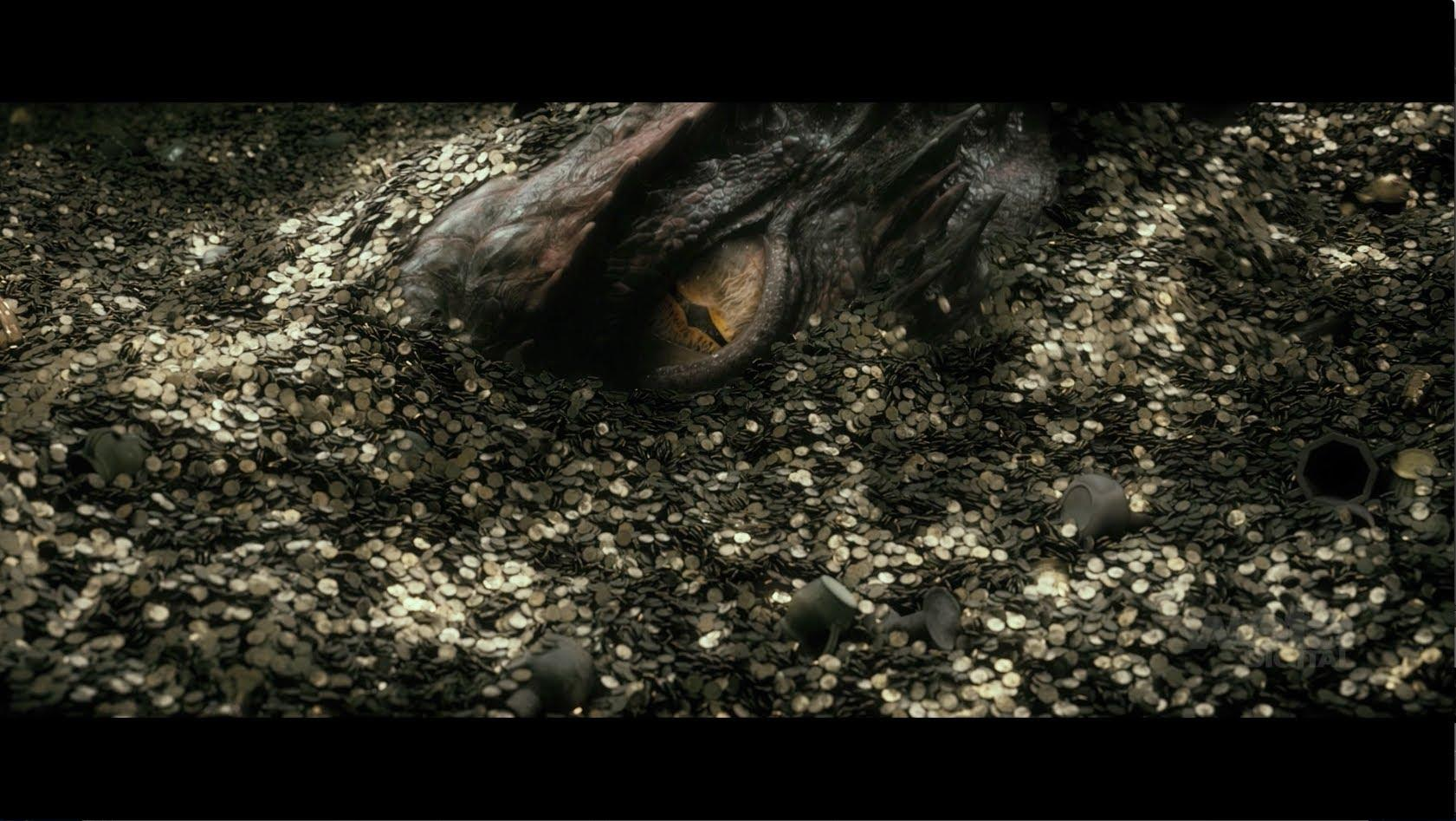 "Weta Digital's artistry behind Smaug from ""The Hobbit: The Desolation of Smaug"""