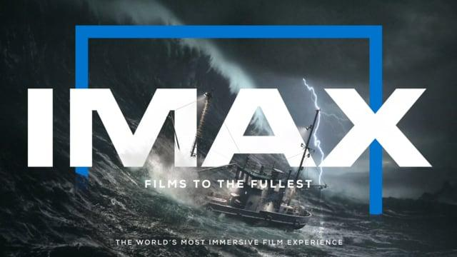 IMAX The Storm with Branding
