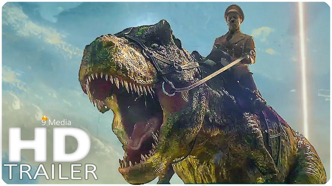 Iron Sky 2: The Coming Race Extended TRAILER (2019) Nazis Dinosaurs Movie HD