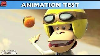 Cloudy With A Chance Of Meatballs - Animation Test