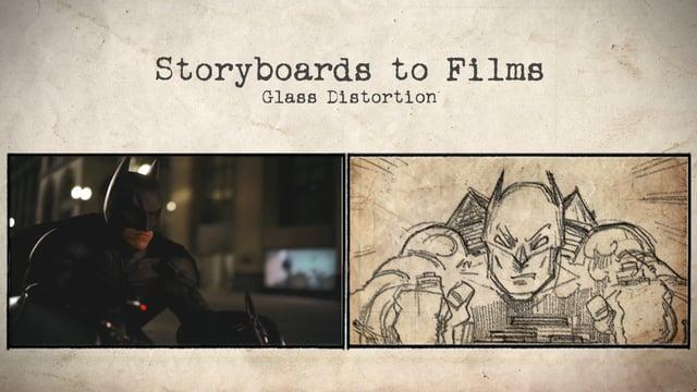 Batman: The Dark Knight - Storyboard to Film Comparison