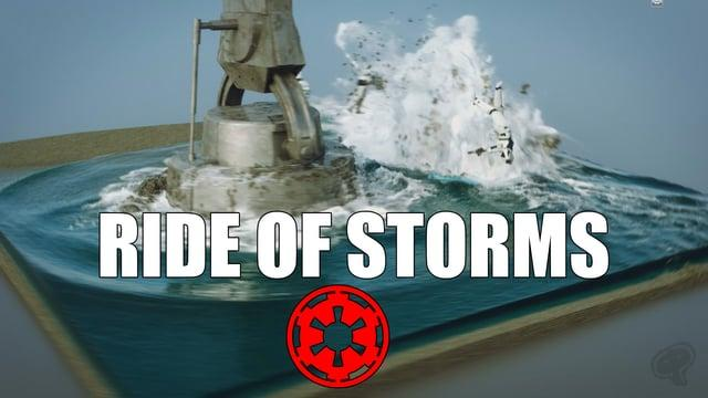 Starwars Ride of Storms FX