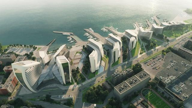 Zaha Hadid Architects. 1st place competition video.