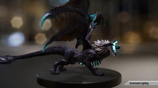 League of Legend AR Elder Dragon -  Making Of