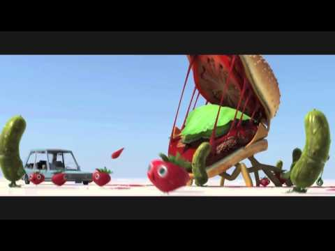 Cloudy With A Chance Of Meatballs 2 - Cheespider Animation