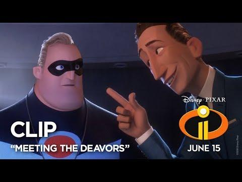 "Incredibles 2 Clip - ""Meeting The Deavors"""
